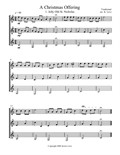 A Christmas Offering (Trio) - Score and Parts